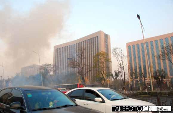 警方 山西省委附近爆炸案初判人為制造 多圖