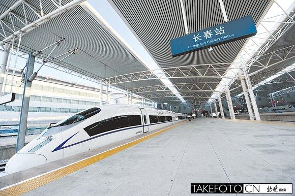 高铁同时开通 东南沿海高铁实现全贯通高清图片