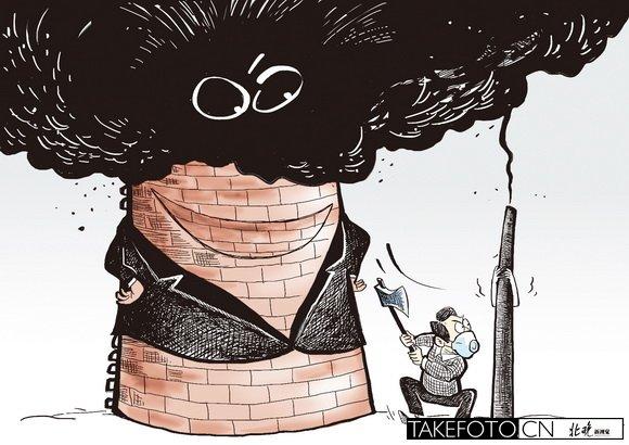 卡通老虎思考图片