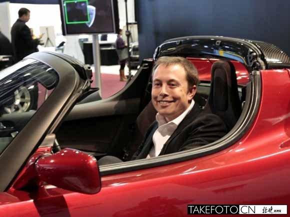 2004年,埃隆·马斯克加盟特拉斯汽车.由于领衔早期投资,他高清图片