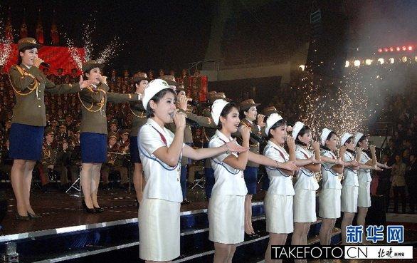 牡丹峰乐团为朝鲜吹来文艺新风.