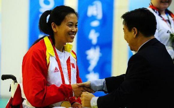 北京残奥会冠军林海燕称奖金4年未发 残联:会发图片
