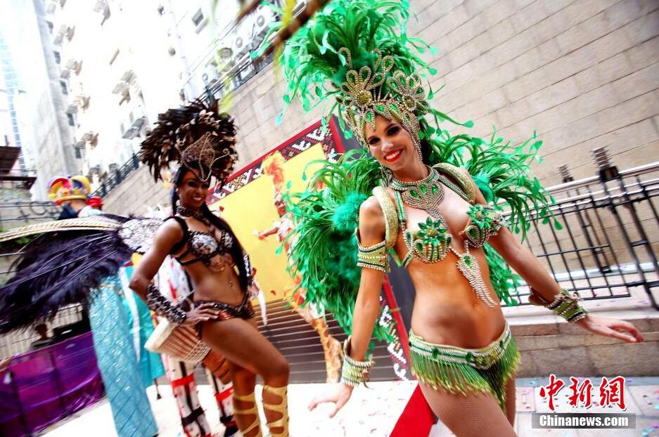 巴西森巴舞女郎性感热舞