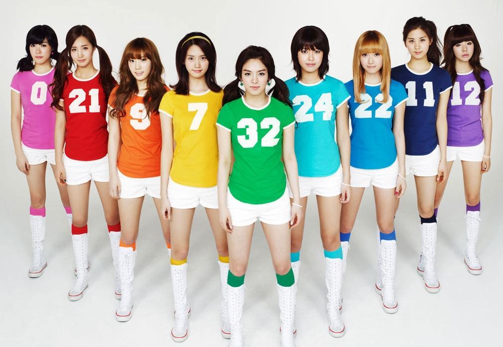 十大韩国天团排行出炉:少女时代九缺一夺冠