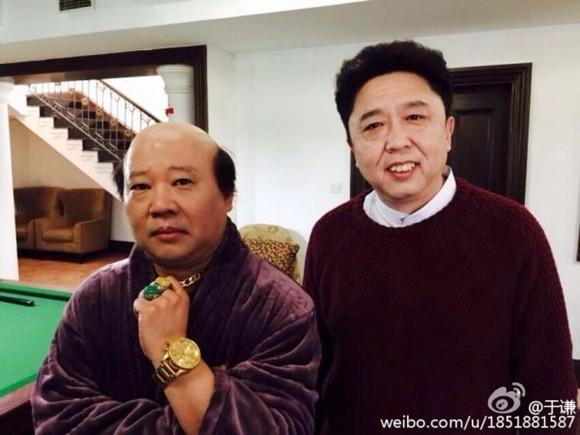 于谦晒日光浴_新闻 娱乐  2015年1月23日,16日,相声演员于谦晒出与搭档郭德纲的全新