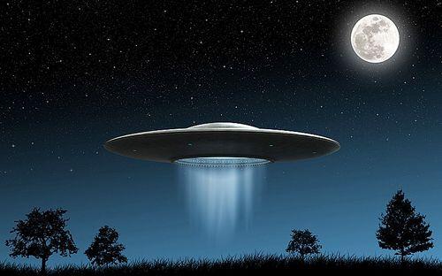 UFO)想象图