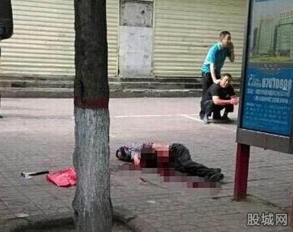 男子当场死亡