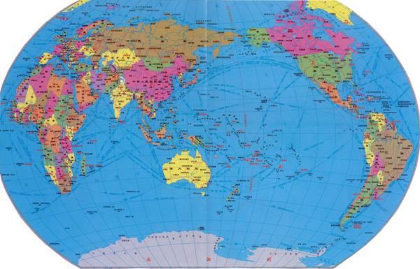 世界地图国家