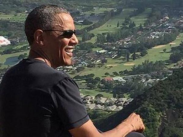 奥巴马回老家度假上演夏威夷风情 网友:原力与你同在