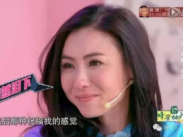 张柏芝节目谈离婚 峰菲恋黯然神伤自曝遭事业婚姻双低谷
