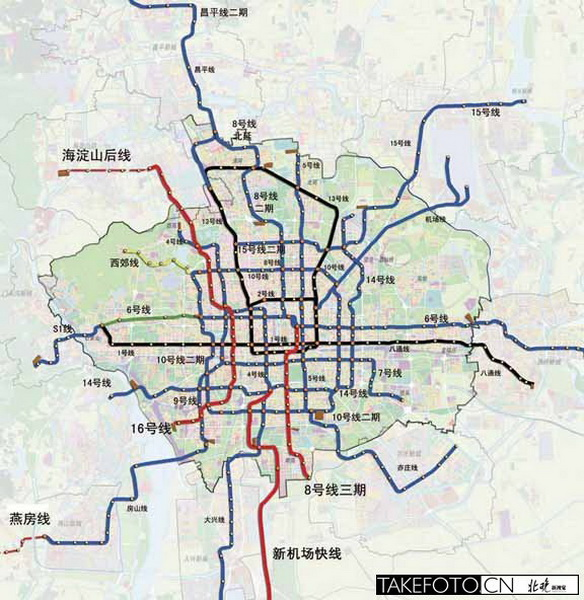 北京地铁6号线换乘2号线怎么走图片