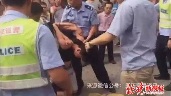 不满处理砍死民警 被砍伤警察陶佳因伤重抢救无效牺牲