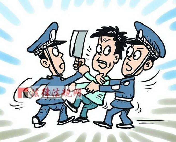 砍伤人拒捕被击毙 男子持刀暴力抗法无视民警多次鸣枪